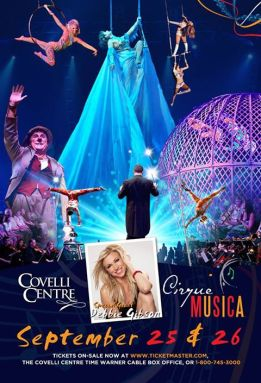 CIRQUE MUSICA at the Covelli Center